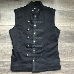 NWOT XL black vest